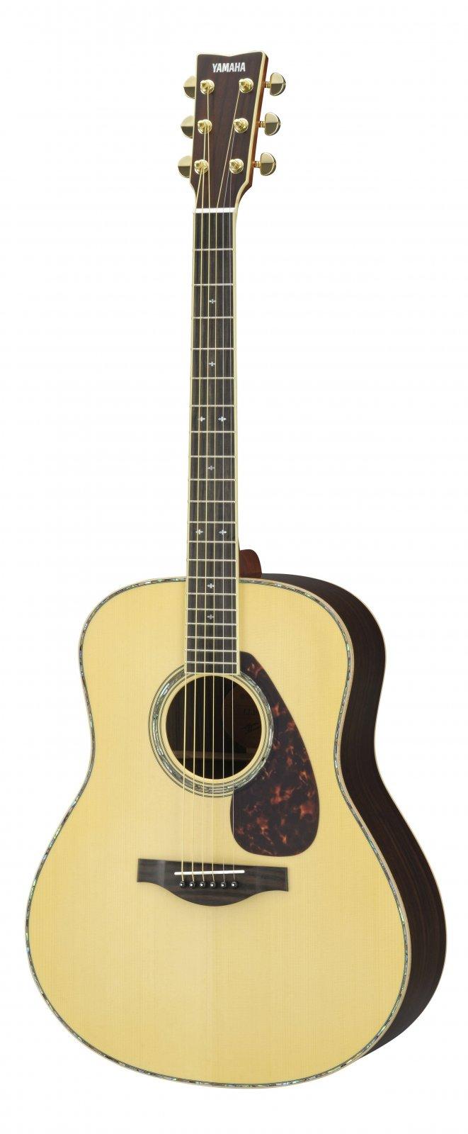 Yamaha LL16D ARE Dreadnought Acoustic Gutiar, Solid Englemann Top - Natural