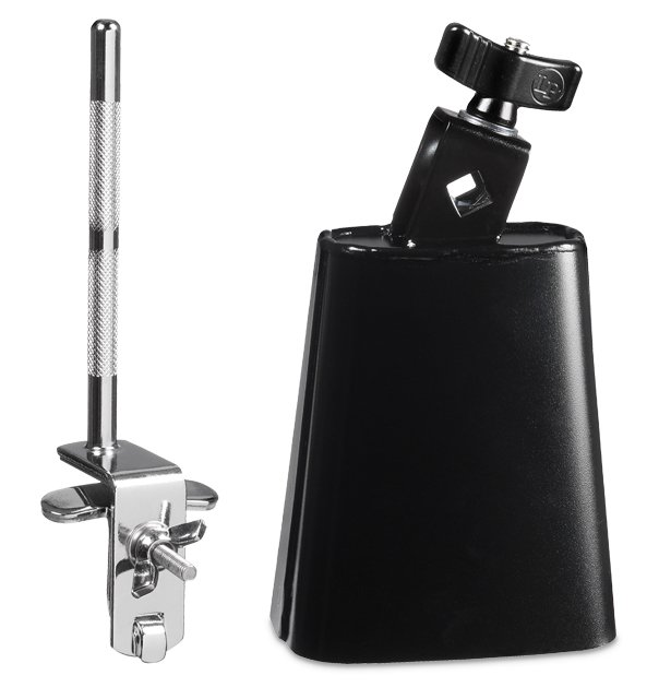 Latin Percussion LP LP20NY-K City Cowbell w/ Mount Pack