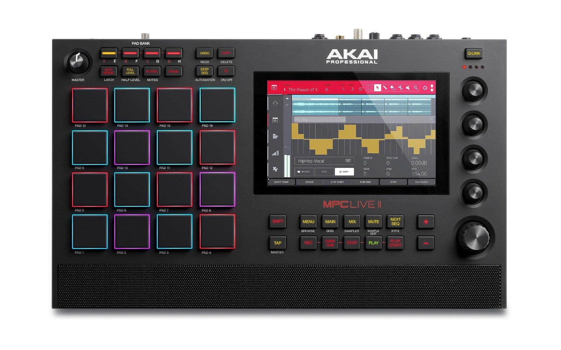 Akai MPC Live II Standalone Sampler/Sequencer