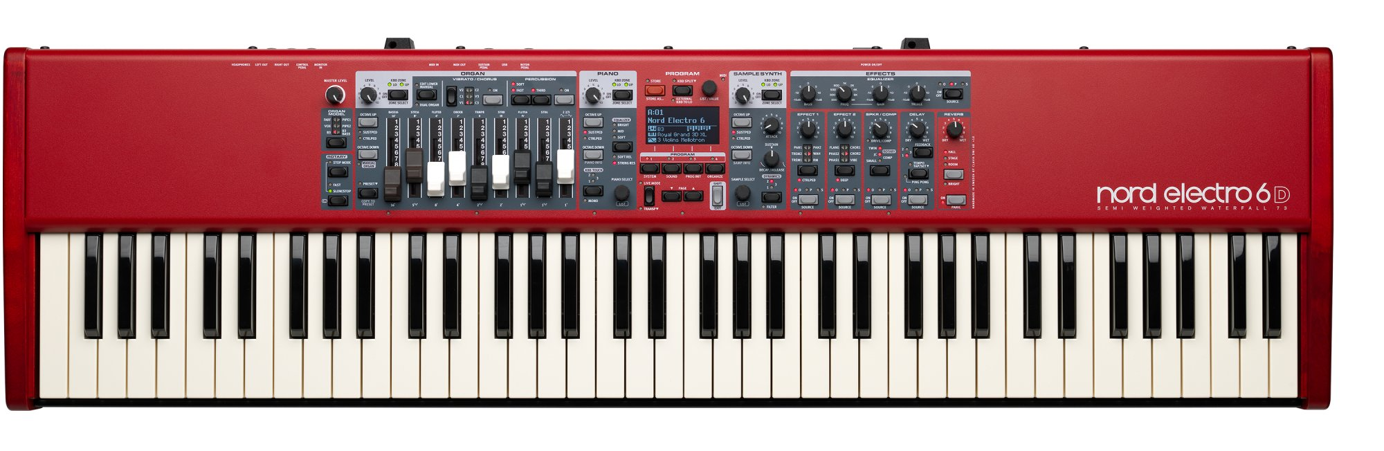 Nord Electro 6D 73 Key Semi Weighted Action Keyboard