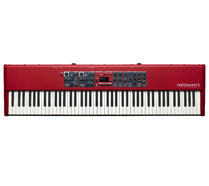 Nord Piano 5 88-Note Triple Sensor Keybed with Grand Weighted Action