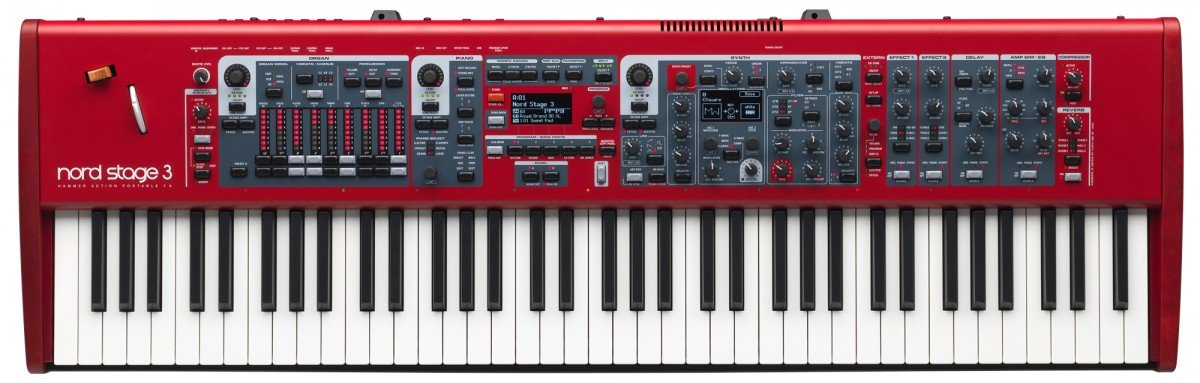 Nord Stage 3 HP76 76-note Hammer Action Portable Keybed