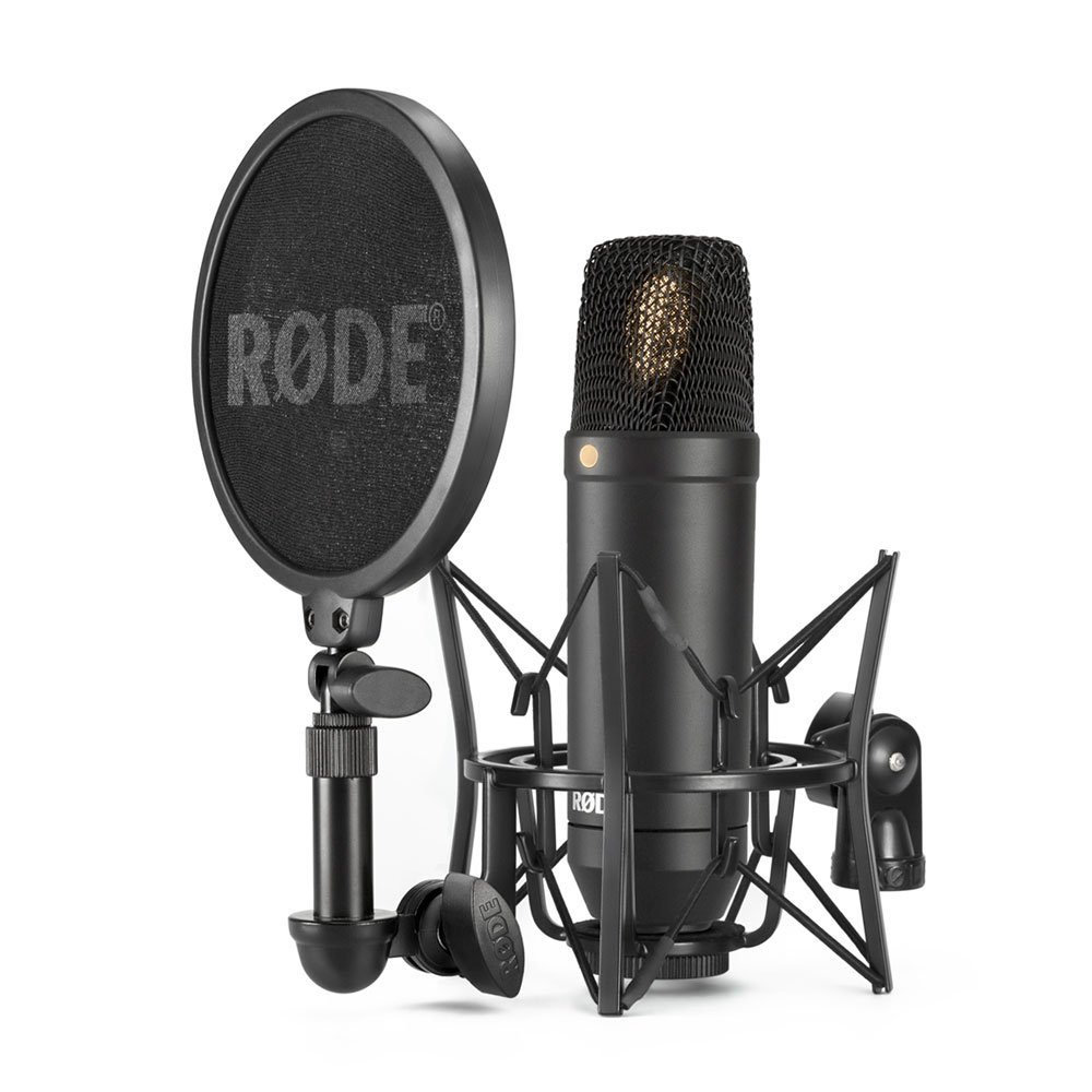 RODE NT-1 KIT w/ Shockmount and Pop Filter