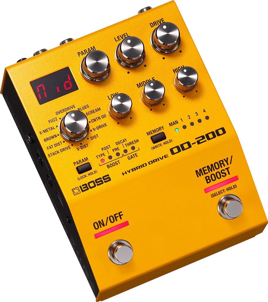 Boss OD-200 Hybrid Drive Guitar Effect Pedal