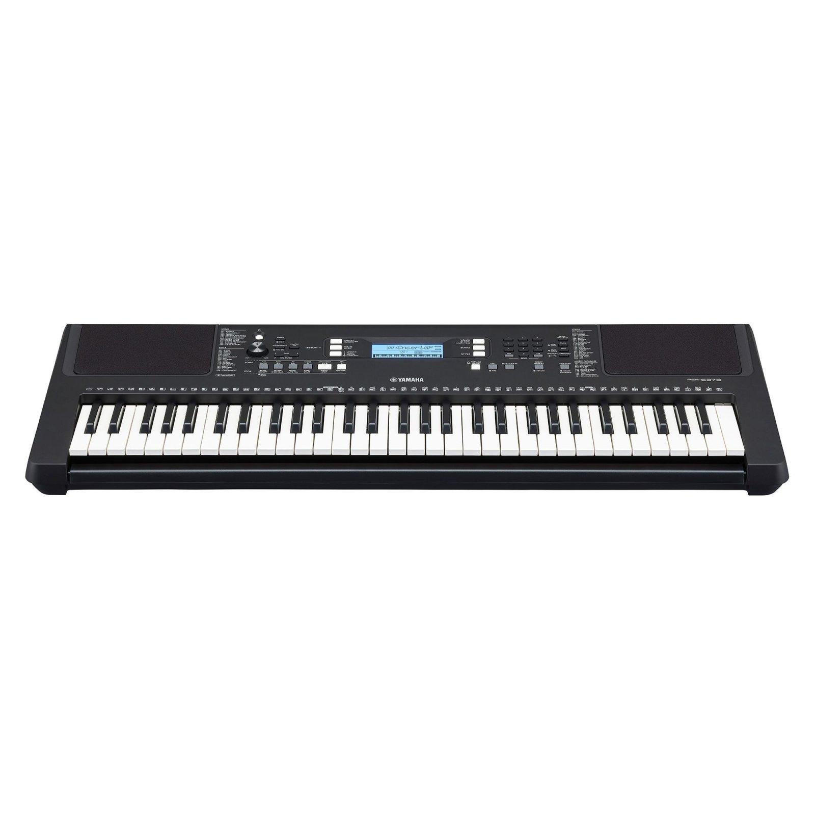 Yamaha PSR-E373 Portable 61-key Keyboard & Power Supply