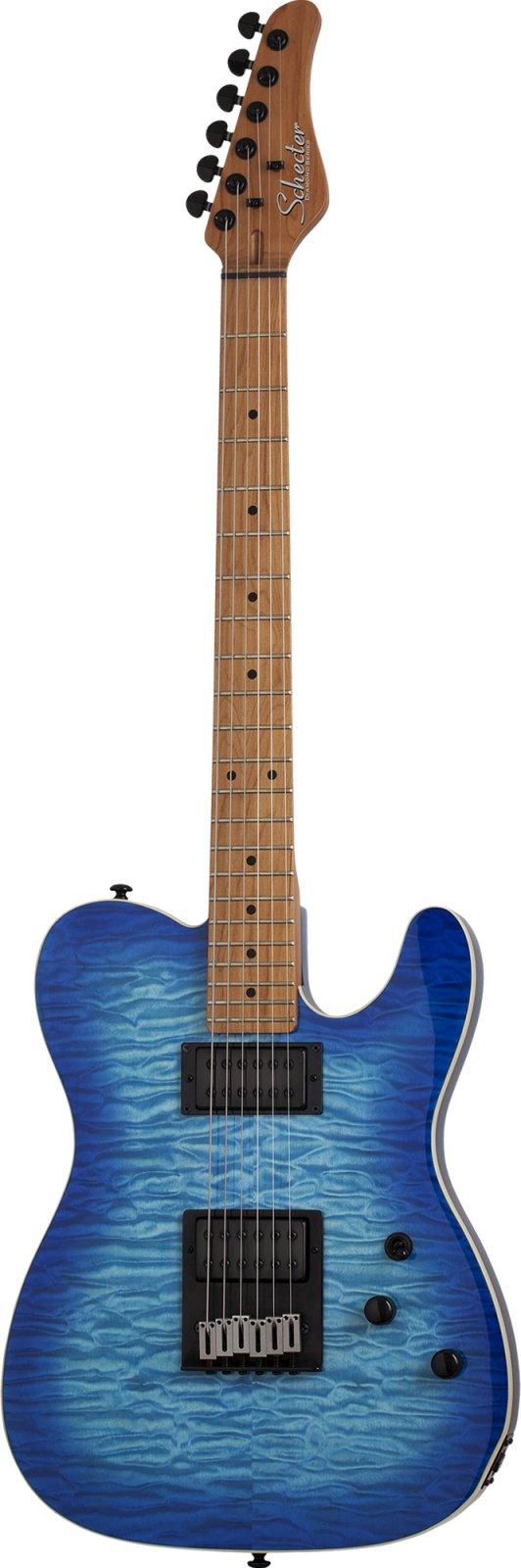 Schecter PT Pro Electric Guitar - Trans Blue Burst