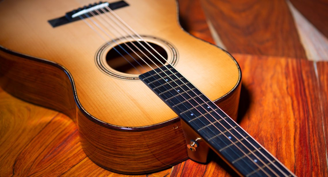 Bedell RE-PAD/CO2 Revolution Parlor Acoustic Guitar