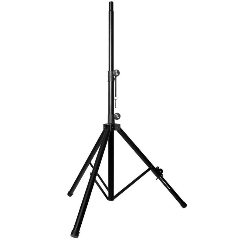 On Stage SS7762B Speaker Stand with Adjustable Leg