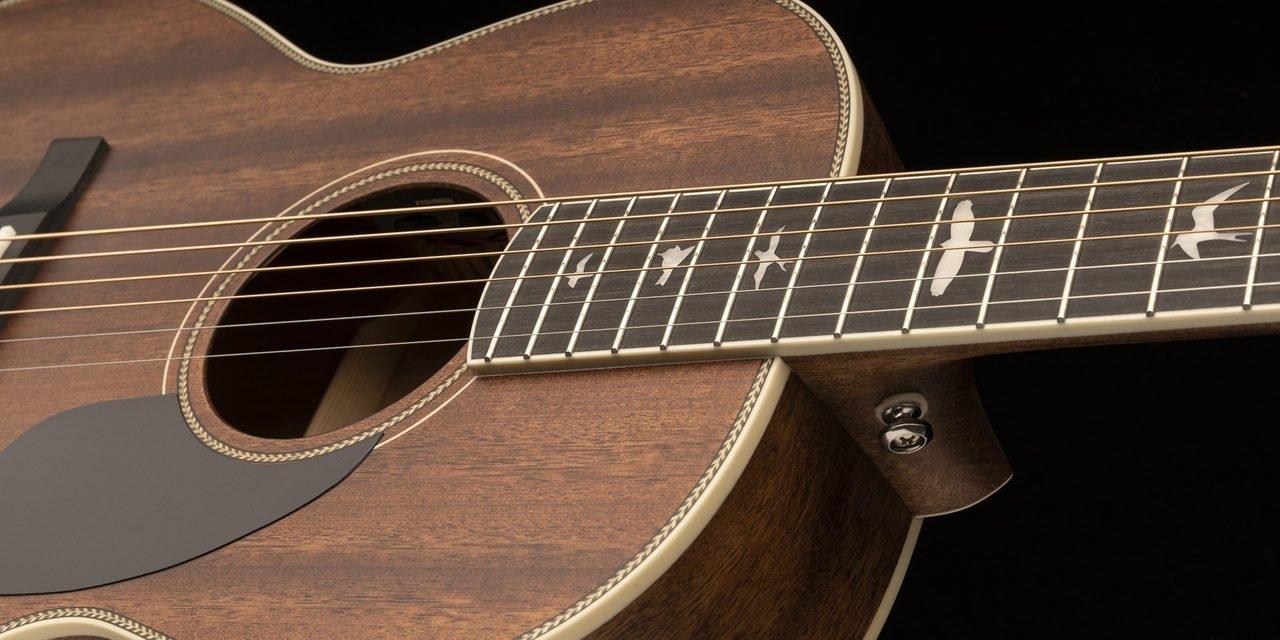 PRS SE Parlor Guitar in Mahogany