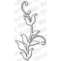 Die-namics (My Favorite Things) - Leafy Flourish Die - Matrice de découpe
