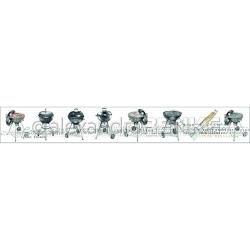 Alexandra Renke Cooking Collection - Grills Washi Tape - Ruban décoratif adhésif