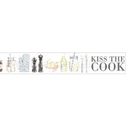 Alexandra Renke Cooking Collection - Kiss the Cook Washi Tape - Ruban décoratif adhésif
