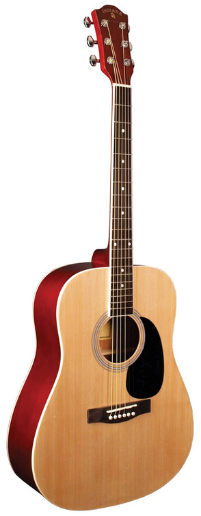 Indiana Scout Acoustic Guitar-Natural