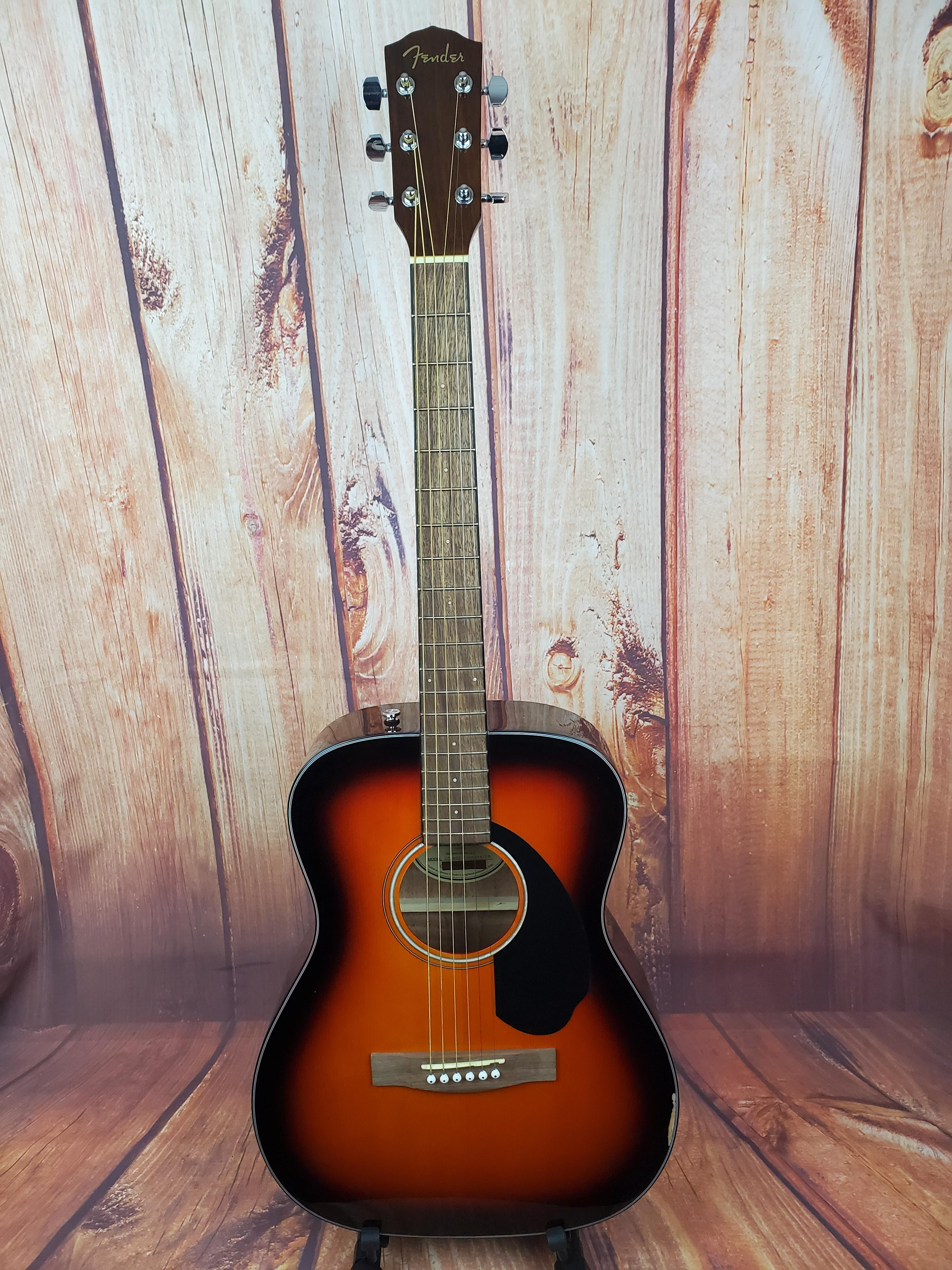 Used- Fender CC-60s Concert Acoustic Guitar