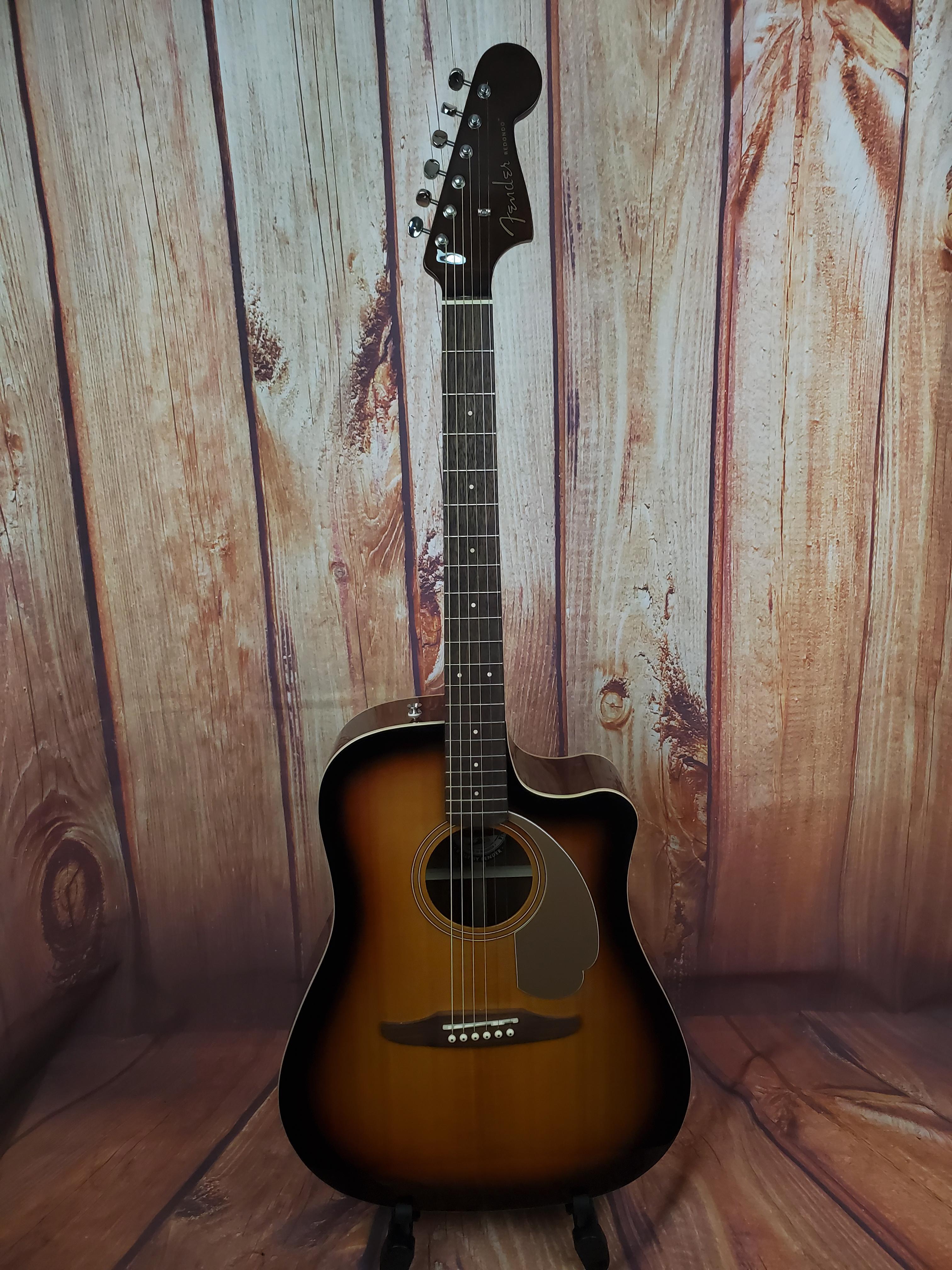 Used- Fender Redondo Player -Sunburst