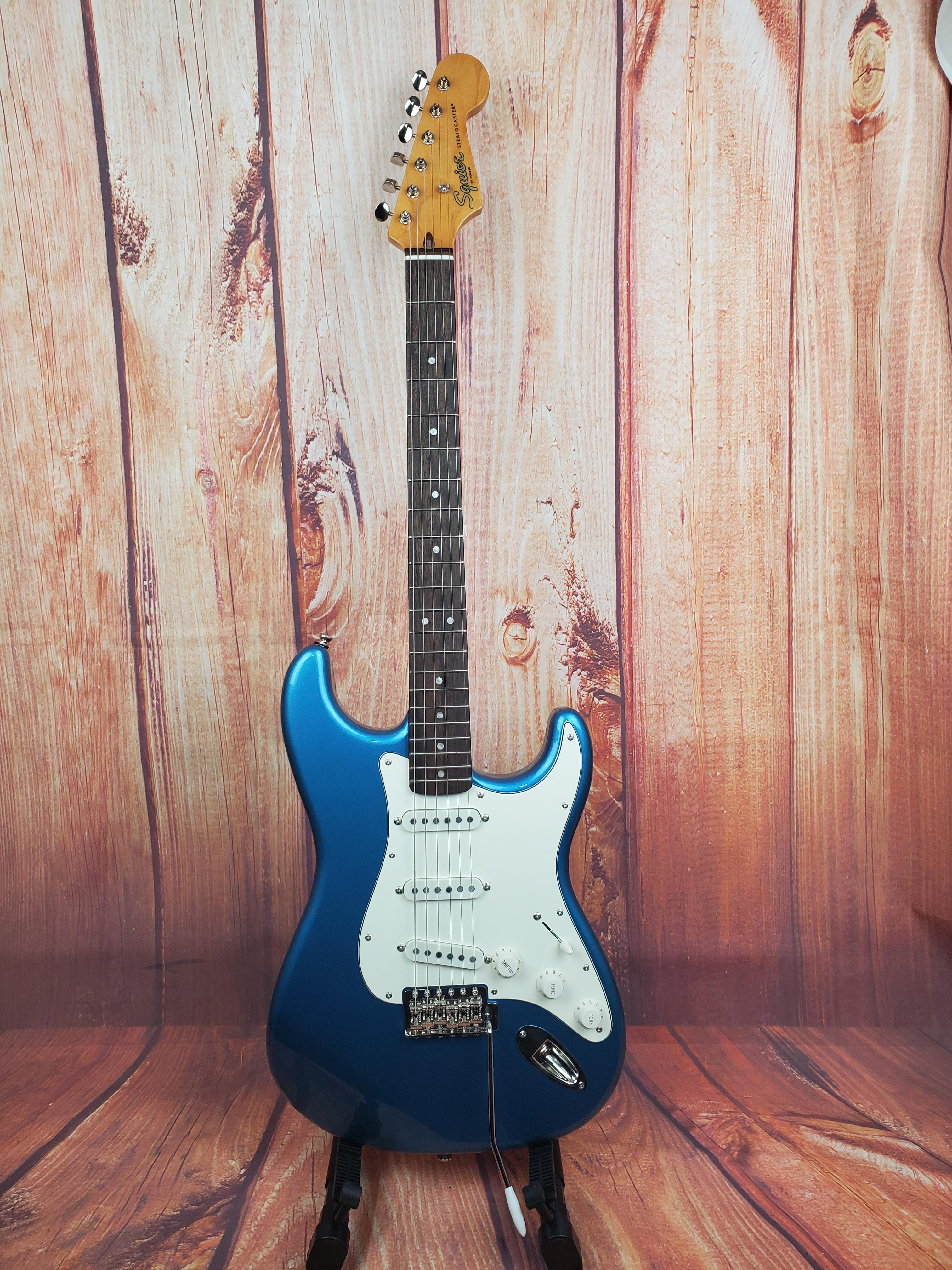 Used-Squier Classic Vibe '60s Stratocaster-Lake Placid Blue