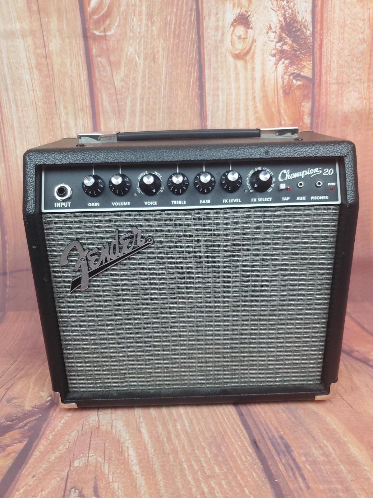 Used-Fender Champion 20 Guitar Amp