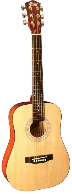 Indiana Runt Acoustic Guitar-Natural