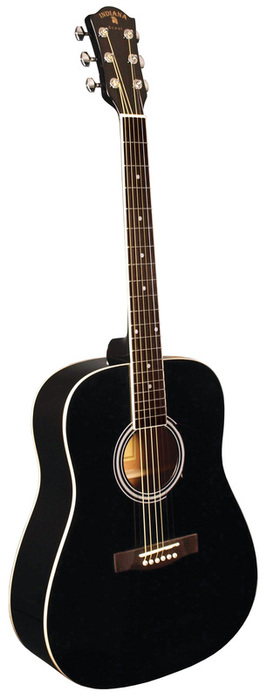 Indiana Scout Acoustic Guitar-Black
