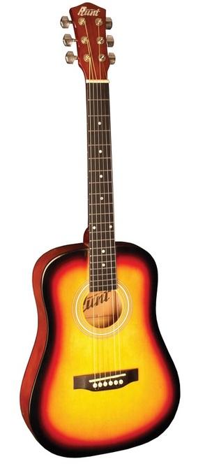 Indiana Runt Acoustic Guitar-Vintage Burst