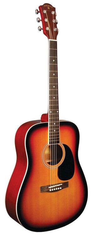 Indiana Scout Acoustic Guitar-Vintage Burst