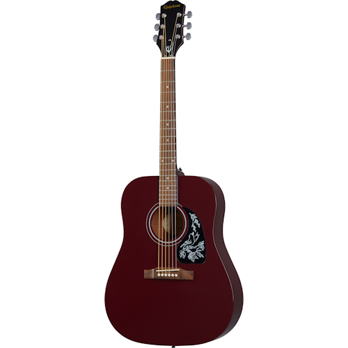 Epiphone Starling Acoustic Guitar-Winde Red