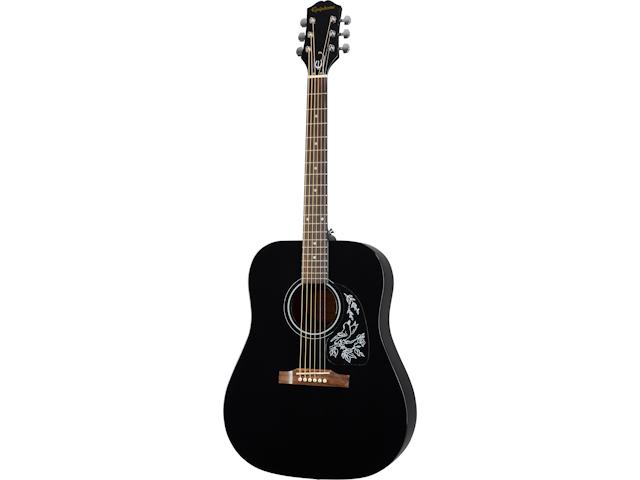 Epiphone Starling Acoustic Guitar-Ebony