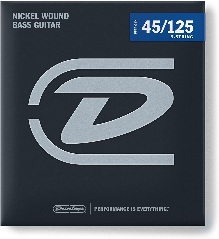 Dunlop Bass 5 Str Med 45-125