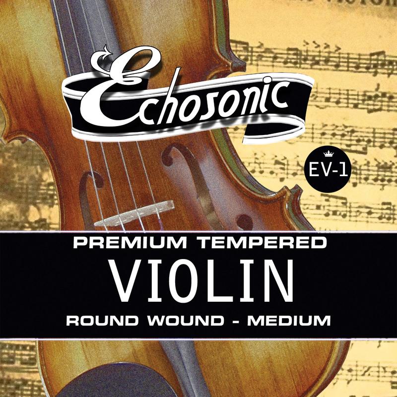 Echosonic Violin Strings, Medium