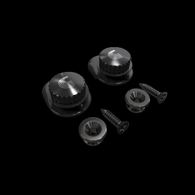 D'Addario Universal Strap Lock System-Black