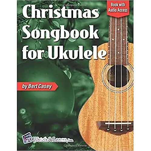 Easy Christmas Songbook for Ukulele w/ Audio Access