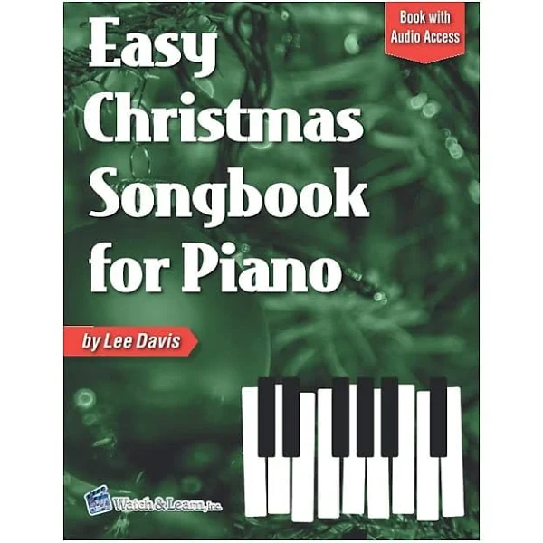 Easy Christmas Songbook for Piano w/ Online Audio Access