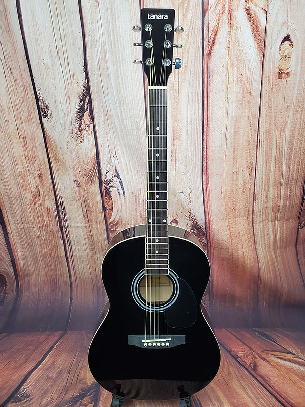 Tanara TD-34BK 3/4 Acoustic Guitar