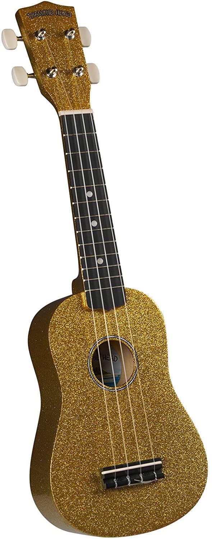 Diamond Head DU-144 Hot Rod Series  Soprano Uke w/ bag- Gold