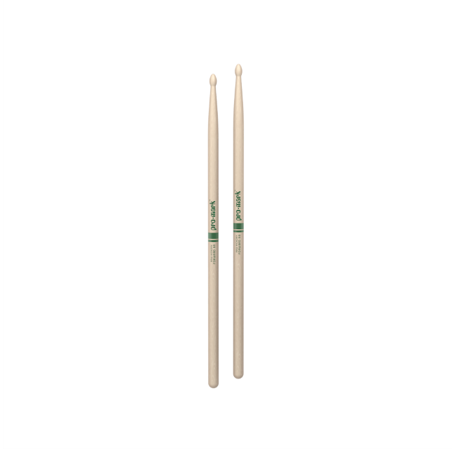Promark Hickory 5A The Natural Wood Tip drumstick