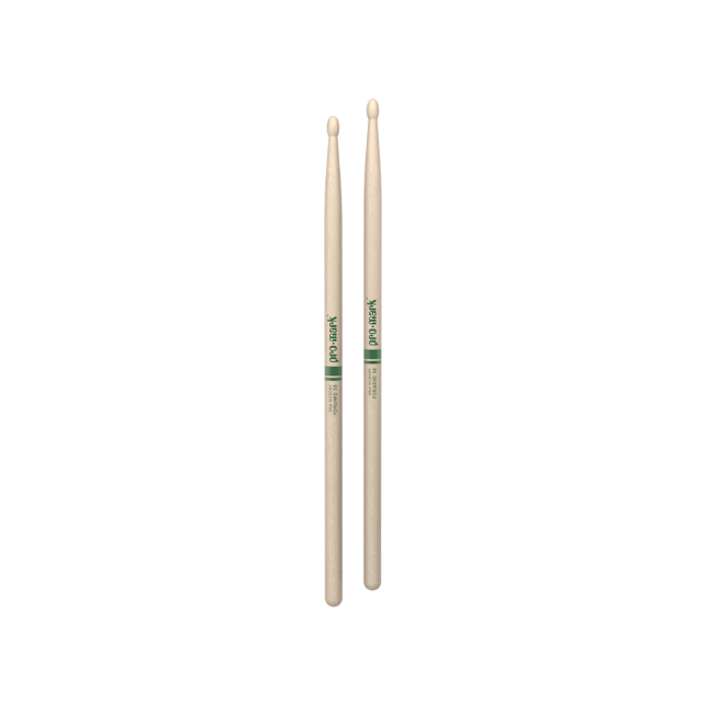 Promark Hickory 5B The Natural Wood Tip drumstick