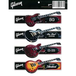Gibson Guitar Sticker Pack