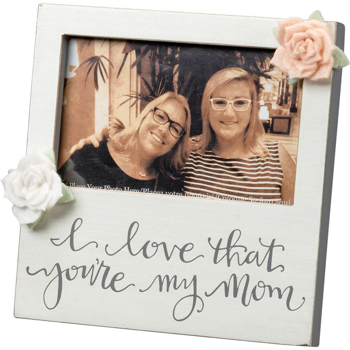 Plaque Frame Mom