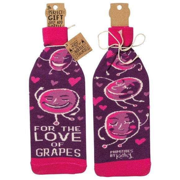 BOTTLE COVER LOVE OF GRAPES
