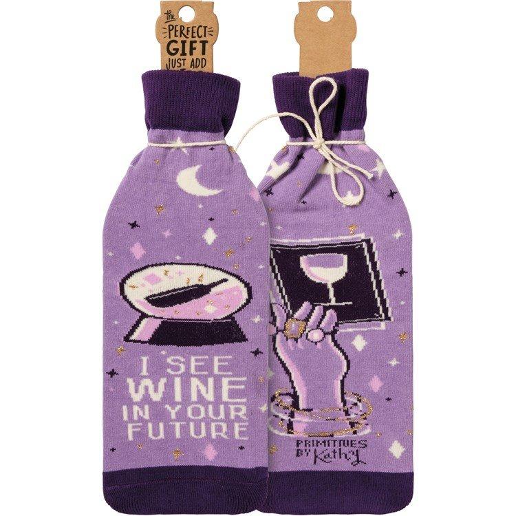 Wine in Future Bottle Cover