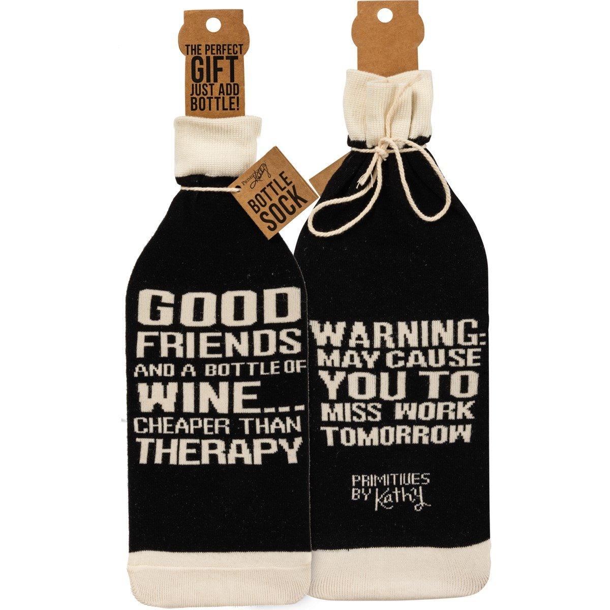 Good Friends Bottle Cover