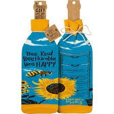 Bee Kind Bottle Cover