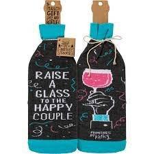 Raise a Glass Bottle Cover