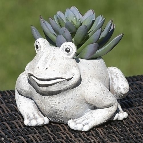 4.25H Mini Frog Pudgy Planter
