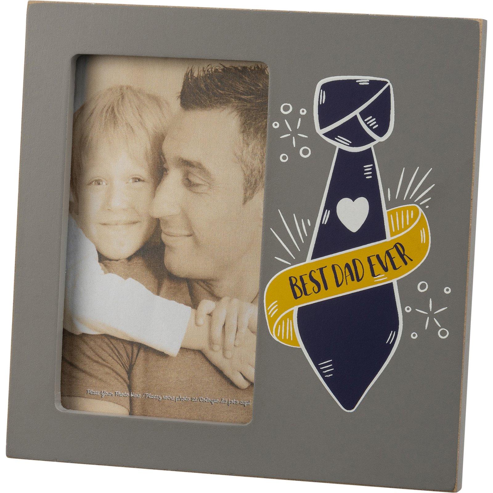Plaque Frame Best Dad