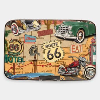 Route 66 RFID Armored  CC Wallet