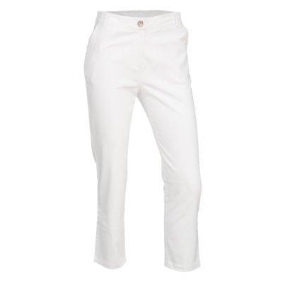 Stretch Trouser - White