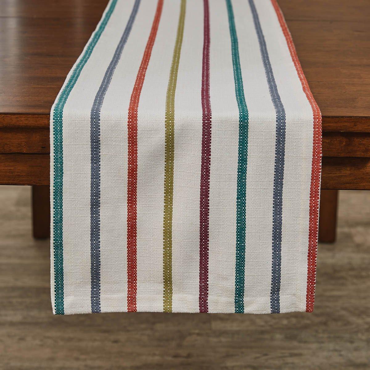 Amber Stripe Table Runner 15X72
