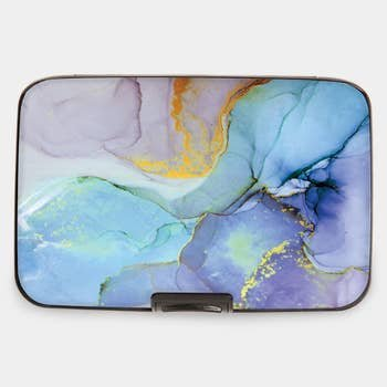 Blue Marble RFID Armored  CC Wallet