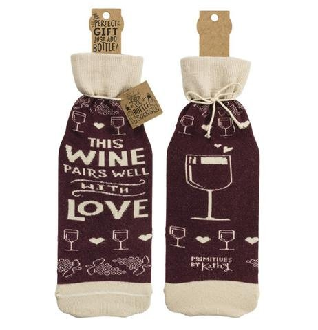 Pairs Well Bottle Cover